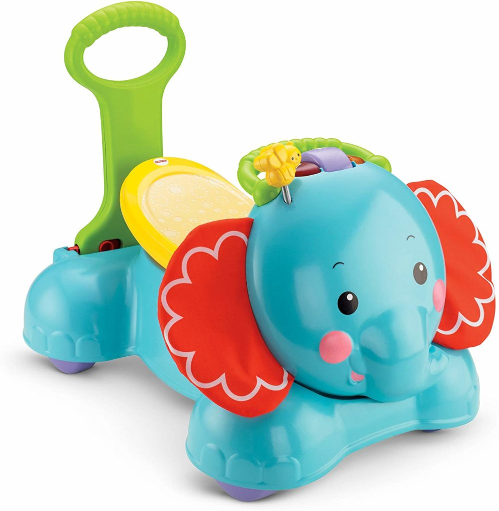 Fisher Price 3 in 1 Ride Elephant