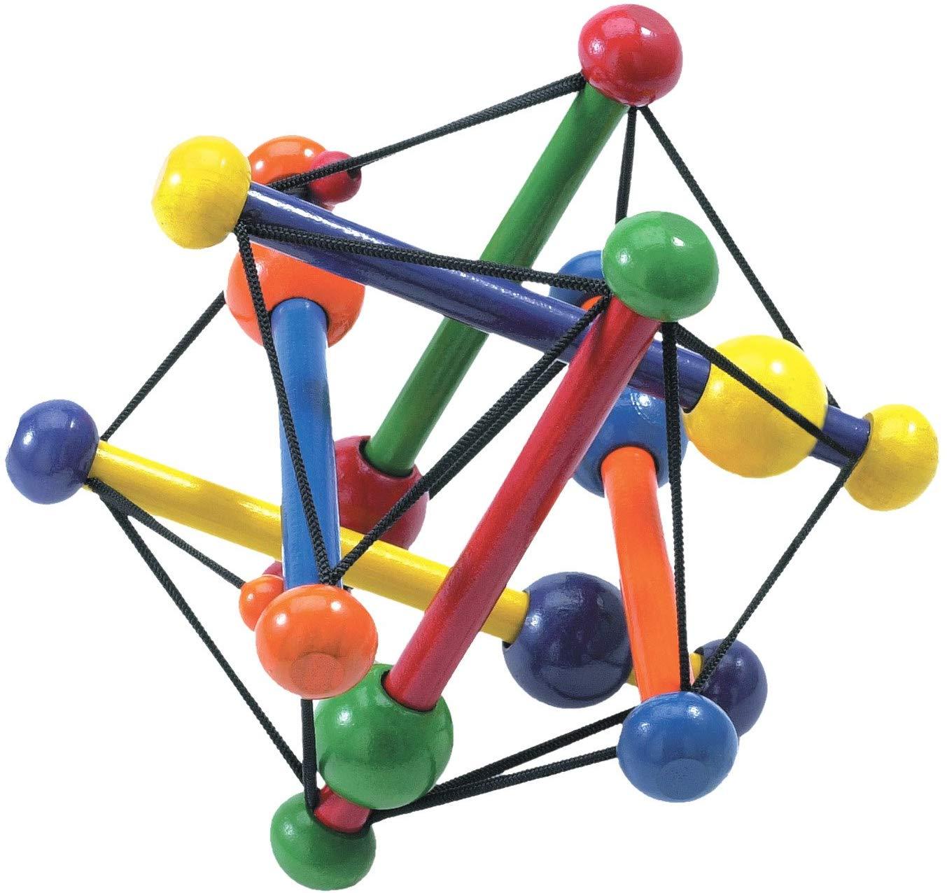 Manhattan Toy Skwish Color Burst Grasping Activity Toy