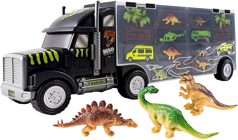 WolVol Giant Dinosaur Transporter Truck