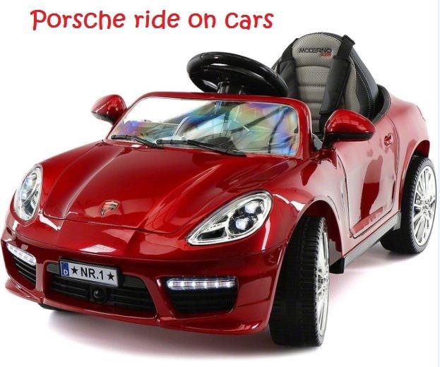 porsche ride on cars