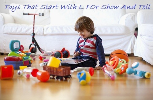 toys that start with l for show and tell